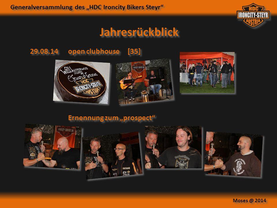 """Jahresrückblick 29.08.14 open clubhouse [35] Ernennung zum """"prospect"""
